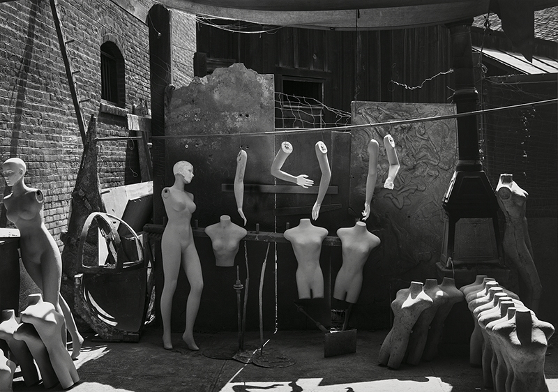 Mannequins, Movie Lot