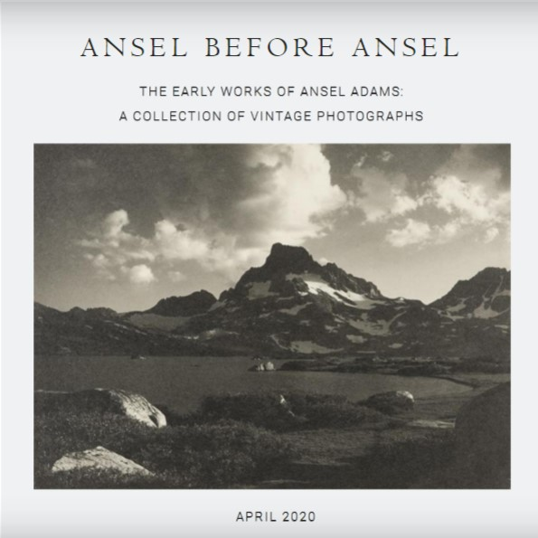 Ansel Before Ansel
