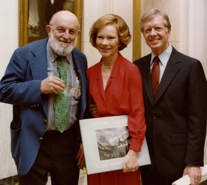Jimmy Carter and Rosalynn Carter—With Ansel Adams