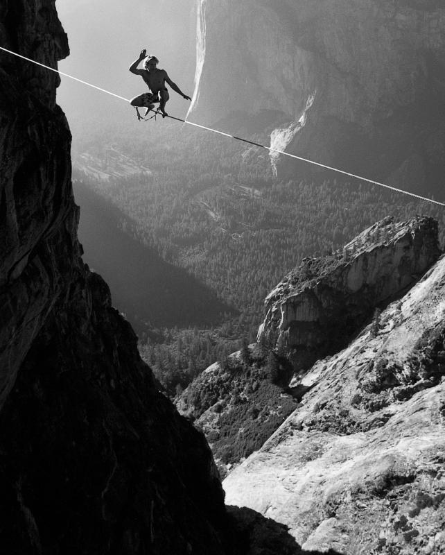 Corbin Usinger Taft Point, Yosemite Climbing